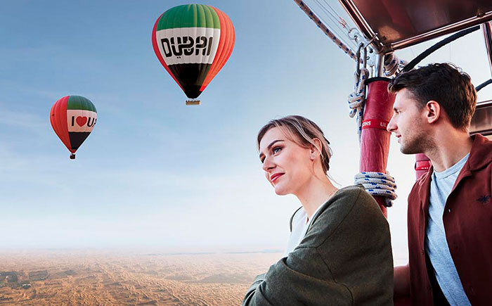 PRIVATE COUPLES HOT AIR BALLOON EXPERIENCE