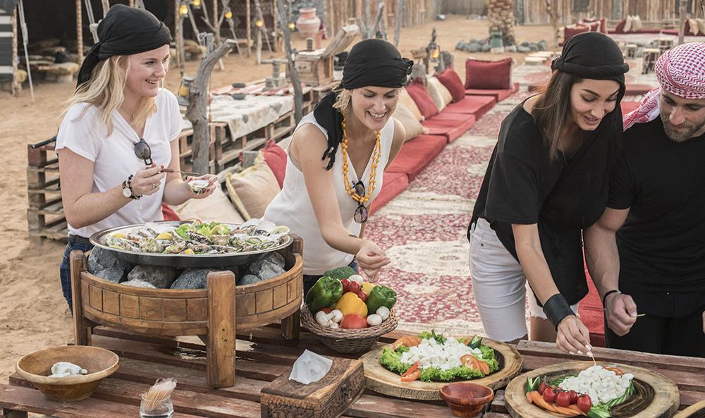 Emirati Delicacies Tasting